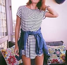 how to style a t shirt dress fashion pinterest clothes