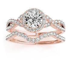 Wedding Rings Rose Gold by Infinity Band Engagement Ring 2017 Wedding Ideas Magazine