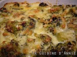 cuisine brocolis recette gratin de brocolis à la béchamel la cuisine familiale