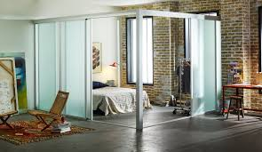 loft room dividers custom sliding glass room dividers for lofts