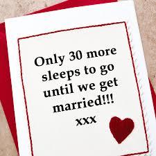 countdown u0027 wedding card for husband or wife by jenny arnott cards