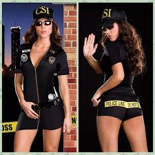 Police Woman Halloween Costume Csi Cosplay Police Officer Costume Women Party