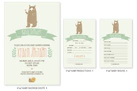woodland baby shower invitations larissa designs kristin s whimsical woodland baby shower