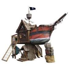 Pirate Ship Backyard Playset by Dream Playhouses By Daniels Woodland Pirate Ships Treehouse And