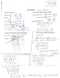 review systems worksheet answer key mrs mahmoud algebra 2