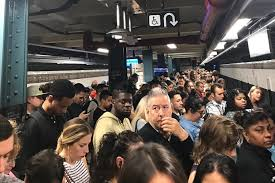 when the subway fails riders scream into the abyss the