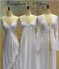 wedding peignoir sets pretty nightgowns pinteres