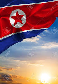 Th Flag Grunge Colorful Flag North Korea With Copyspace For Your Text Or