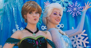 anna elsa 4 ways face frozen sisters