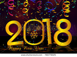 greeting for new year happy new year 2018 wishes greeting stock vector 760779025