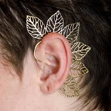 ear wraps forest fairy ear cuffs bohemian pixie festival ear wrap