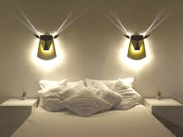 bedroom wall light fixtures with led lights 10 varieties to