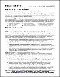 business analyst finance domain resume 13848