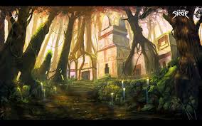 siege habitat wallpaper painting forest jungle