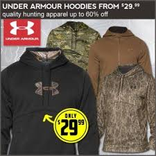 under armour men u0027s fleece hoodies 29 99 hunting gear deals