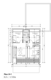 chambre handicapé chambre taille salle de bain dessiner des plans fonctionnels