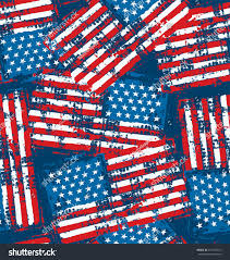How To Paint American Flag Distress Painted American Flag Seamless Pattern Stock Vector