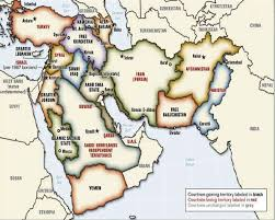 mid east map the new map of the middle east the new map of the middle east