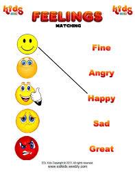 feelings worksheets worksheets