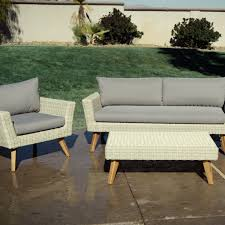 all weather wicker marina del ray occasional bench world market thumb img