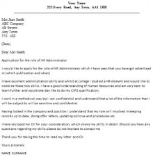 sample cover letter for human resources ideas collection sample