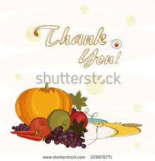 thanksgiving day celebration concept stylish hanging stock vector