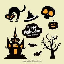 815 best halloween clipart images halloween october 31 calendar page sketch icons free download