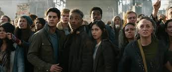 Maze Runner Maze Runner The Cure Zombies And Missiles And