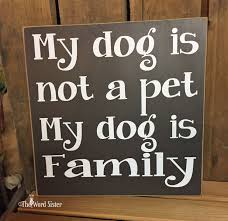 Home Decor Family Signs Dog Sign Dog Wall Decor My Home Without A Dog