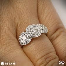 ritani engagement rings ritani endless 3 engagement ring 2177
