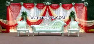Wedding Stage Chairs Wedding Mehandi Stage Furniture Set