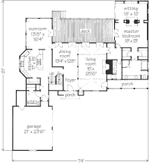 Southern Living Floorplans French City House Philip Franks Southern Living House Plans