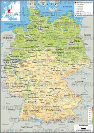 geographical map of germany geoatlas countries germany map city illustrator fully