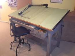 Mayline Ranger Drafting Table Mayline V Track Model S Drafting Machine Triangular Scales Rulers