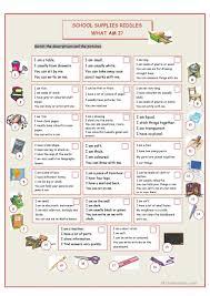 Linking And Action Verbs Worksheets 71 Free Esl Riddles Worksheets
