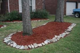 rock flower bed design ideas information about home interior and