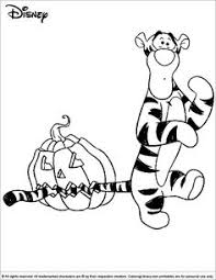 halloween disney coloring coloring pages kids
