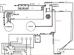 wiring diagram starter solenoid and auto command remote to ford