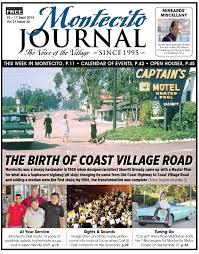 House Of Tiny Tearaways Dvd by The Birth Of Coast Village Road By Santa Barbara Sentinel Issuu