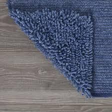 Toilet Mat Sealskin Toiletmat Misto Katoen 55x60 Blauw Blokker