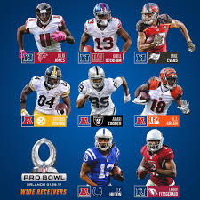 Pro Bowl Orlando by Pro Bowl Picks Wide Receivers Nfl Rush