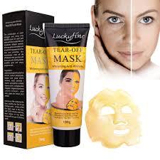 Collagen Mask luckyfine gold collagen mask anti aging whitening