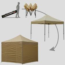 Heavy Duty Gazebo Bag by Abccanopy 8x8 Deluxe Beige Package Tent With Roller Bag Abccanopy