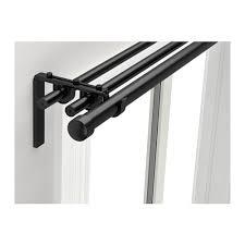Steel Curtain Rods Price Räcka Hugad Triple Curtain Rod Combination Ikea