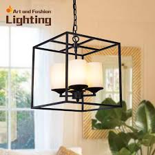 Candle Pendant Light Brief Cage Pendant Light Iron Birdcage Candle Pendant Lights Led