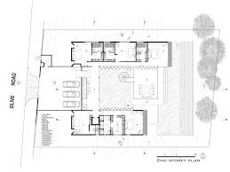baby nursery hill side house plans steep slope home designs very