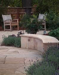 Gravel Fire Pit Area - a lavender path verdance fine garden design