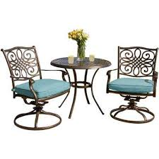 Patio Furniture High Top Table And Chairs by Bistro Sets Patio Dining Furniture The Home Depot