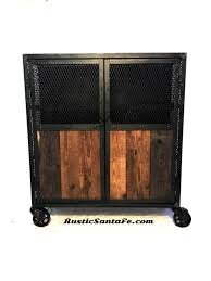 Reclaimed Wood Bar Cabinet Reclaimed Wood Liquor Cabinet Industrial Pantry Bar Cabinet