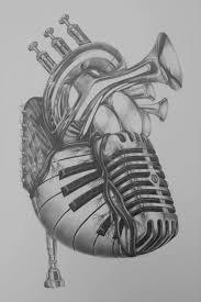 best 25 music heart tattoo ideas on pinterest music tattoo